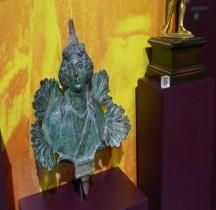 Rome Dionysos Juvénile Applique Bronze Mougins
