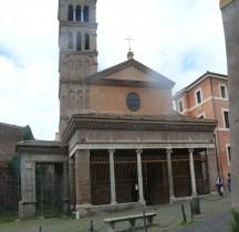 Rome Rione Ripa Chiesa San Giorgio in Velabro