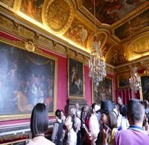Yvelines Versailles Chateau Appartements du Roi Salon de Mars