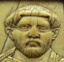 Rome 2-3 Bas Empire Ivoire Diptyque consulaire de Flavius Achilius Paris BNF