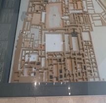 Syrie Abou Kamal Mari Palais Royal  Maquette Paris Louvre