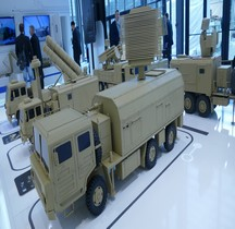 Missile Sol Air Syteme Sky Dragon 50 Target Distribution Radar Vehicle   Maquette Eurosatory 2016
