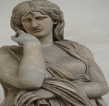 Statuaire Rome Thusnelda Florence Loge dei Lanzi