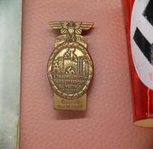 1933 Tagungsabzeichen NSBO, Arbeitsfront, Westfalen  Bastogne