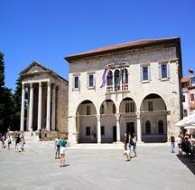 Croatie Pula Temple d'Auguste