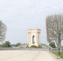 Hérault Montpellier Place Royale Peyrou Chateau d 'Eau