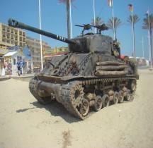 Char Moyen Sherman M4A2E8 Fury Canet 2015