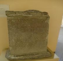 Pouvoir Epigraphie Base Honorifique Base Honorifique Marcus Flavius Nobilior Rome Centrale Montemartini