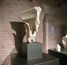 Rome Rione Campitelli Forums Impériaux 2 Forum Auguste Temple Mars Ultor Portique Statuaire