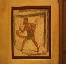 Fresque Rome  Italie Priape Pompéï Naples