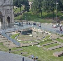 Rome Rione Celio Fontaine Meta Sudans