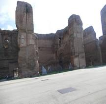 Rome Rione San Saba Thermes de Caracalla Grande Cour