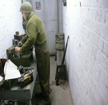 Bastogne Barracks Exterieurs  PC General McAuliffe Atelier radio
