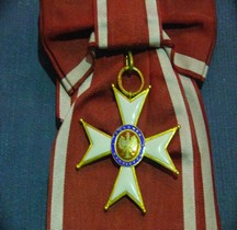 Pologne 1921 Odrodzenia Polski Krzyzy Komandorsk Croix Commandeur