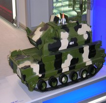 Missile Sol Air TOR M 1  SA-15 Gauntlet  Maquette