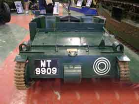Carden Loyd Mark VI Tankette Bovington