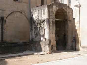 Vaucluse Carpentras Arc de Triomphe