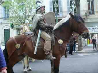 Militaria Gaule Cavalier Nimes 2012