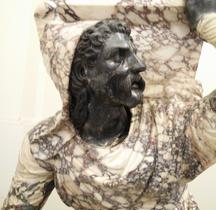 Statuaire Personnage Persiano Inginocchiato  Farnèse Naples