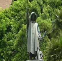 Rome Rione Campitelli Capitole  Statue de Cola di Rienzo