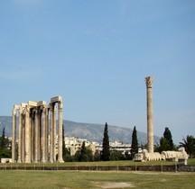 Arhènes Temple de Zeus Olympien