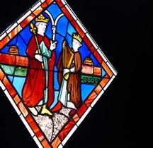 Vitrail Médiéval France Paris Sainte Chapelle  Musée de Cluny