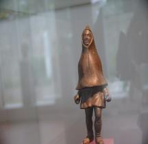 Statuaire Rome Statuette   Homme à la Capuche Trèves