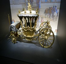 1722 Carrosse Modèle réduit Musée des Carrosses Versailles