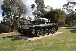 Centurion A 41 Mark 3 Puckapunyal Army