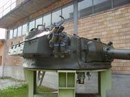 Centurion A 41 Tourelle Interieur  Full Suisse