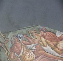 Mosaïque Rome France St Romain en Gal Mosaique de Lycurge