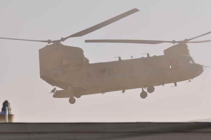Boeing CH-47 D Chinook Kaboul 2009