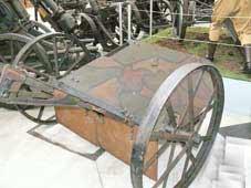 1°GM 1916 Chariot Tranchée Bruxelles