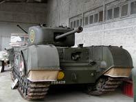 Churchill Infantry Tank Mk VI (A22) Mark IV Bruxelles
