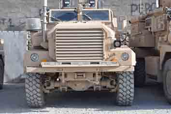 Force Protection Cougar HEV  MRAP  Kaboul 2009