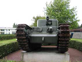 Churchill Infantry Tank Mk VI (A22) Mark VII Crocodile Bayeux