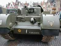 Churchill Infantry Tank Mk VI (A22) Mark VII Crocodile Belgique