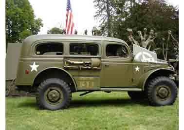 Dodge WC 53 Carry All Radio