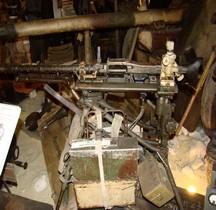 Maschinengewehr 34  Lafette Fliegerdreibein Tripod Viervilles