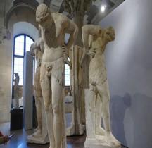 Statuaire Satyres en Atlantes Rome II  ap.JC, collection Albani Paris Louvre