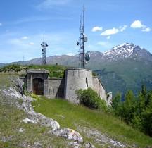 Savoie St Michel  de Maurienne Fort Telegraphe ou Berwick