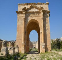 Jordanie Jesrah Gesara Tétrapyle Nord