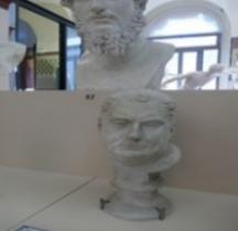 Statuaire 2 Empereurs 3 Vitellius Grimani Bologne Copie