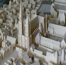 Seine St Denis Basilique Etat 1837 Maquette