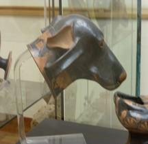 Etrurie Céramique Askos Tête de Chien Rome MNE