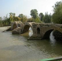 Hérault Saint Thibéry Pont Romain