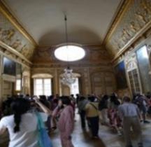 Yvelines Versailles Chateau Appartements du Roi Salon de l'Oeuil de Boeuf