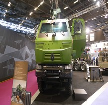 RTD Kerax 8X8 Cabine blindée Eurosatory 2016