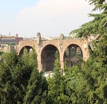 Rome Rione Campitelli Forum Romain Basilique de Maxence et Constantin