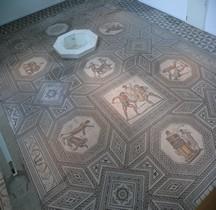 Saarland Perl Villa de Nenning  Mosaique Jeux Amphithéatre